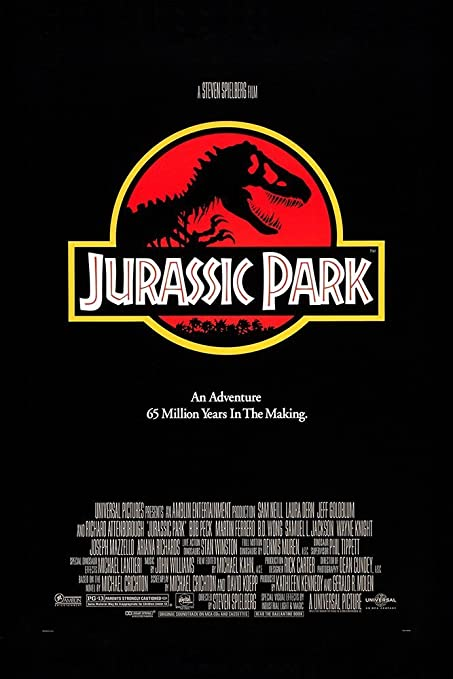 Image result for jurassic park poster