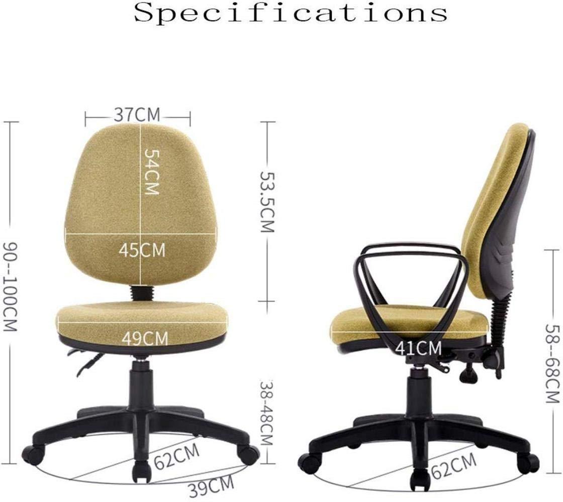 Barstolar Xiuyun kontorsstol spelstol svängbar stol hem datorstol studentstol arbetsstol sovsal stol lyft skrivbordsstol (färg: Stil 1) Stil 4