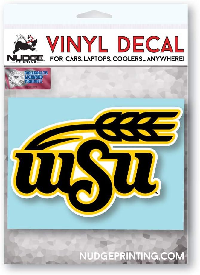 Nudge Nudge Printing Collegiate NCAA Car Decal Made from Premium Weatherproof Vinyl