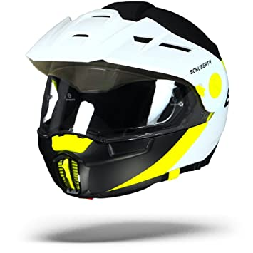 SCHUBERTH E1 Gravity Yellow Adventure - Casco de moto