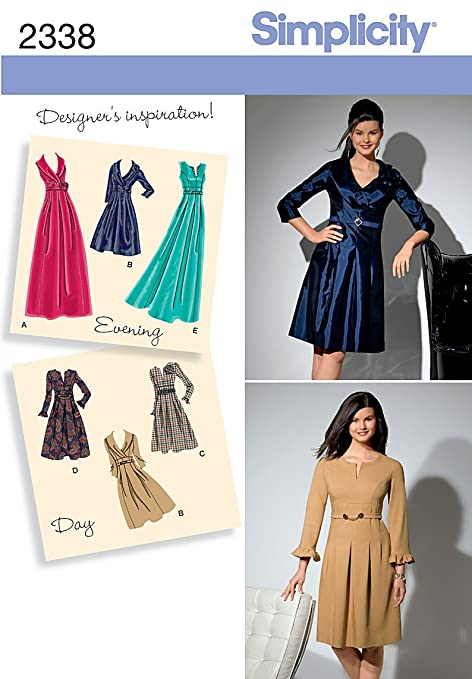 Simplicity Sewing Pattern 2338 Misses And Plus Size Day To Evening