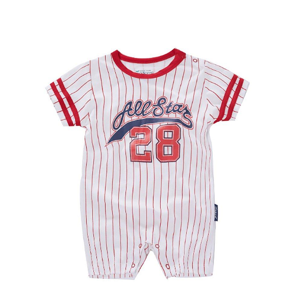 Amazon.es: Traje de Ropa para Bebé niños recién Nacidos Batas de Verano Mameluco de Manga Corta, Numero 28 All Star [80CM]: Juguetes y juegos