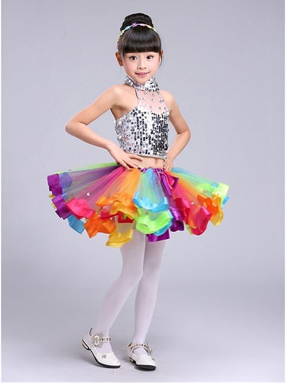ECYC Vestido De Fiesta De Baile De Ballet con Falda De Tutú ...