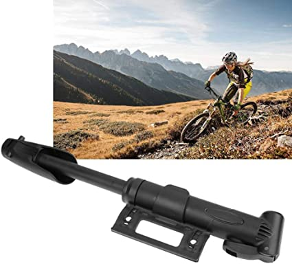 Compact Bike pump bicycle cycle ball valve /& adapters BMX tyre tire inflator