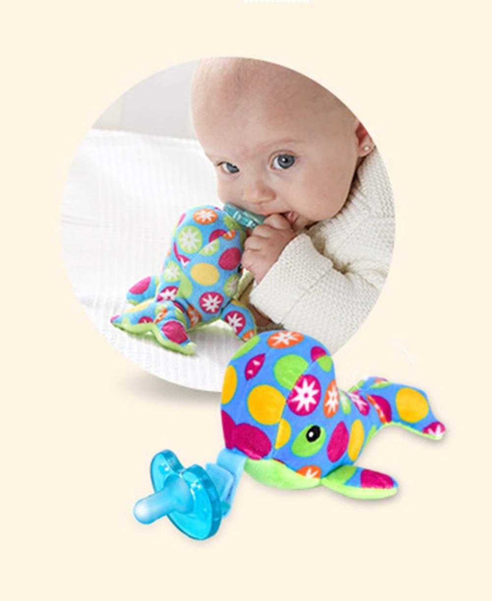TINERS bebé Chupete Juguete Animal extraíble Peluche Juguete ...