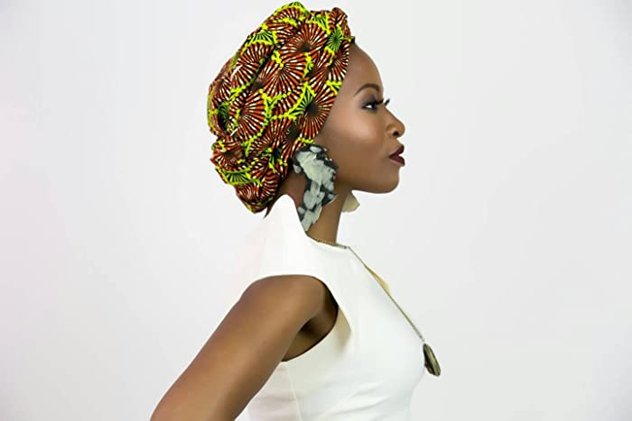 African print head wrap, African clothing, African fabric, African headwrap, Ankara head wrap, Ankara fabric, African head scarf, African scarf, African ...