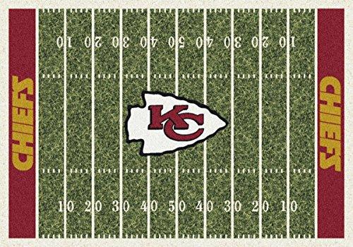 Carpet Kansas Chiefs City - Kansas City Chiefs NFL Team Home Field Area Rug by Milliken, 3'10