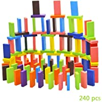 Asian Hobby Crafts Imported Authentic Standard Wooden 12 Colors Set, Multi Color (240 Pieces)