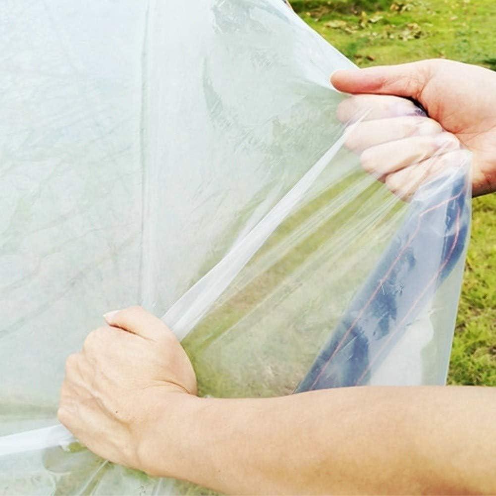 WHAIYAN Transparent Plane Gewebeplane Schutzplane PE Verdicken Pflanze Isolierung Fenster K/älteschutz Staubdicht 23 Gr/ö/ßen Color : Clear, Size : 1.0X1.0M