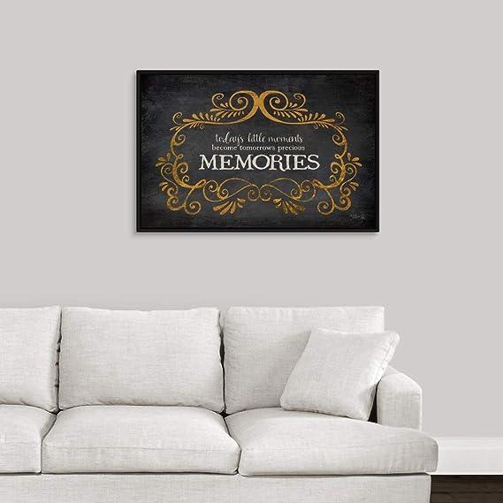 Amazon.com: Precious Memories Black Floating Frame Canvas ...