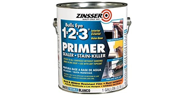 Rust-Oleum Corporation 02001 Water Base Primer, 1-Gallon, White by Zinsser - - Amazon.com