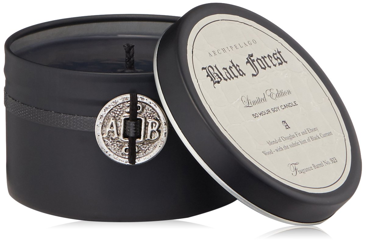 f476b4cc8a Archipelago Black Forest Travel Tin Candle  Amazon.co.uk  Luxury Beauty