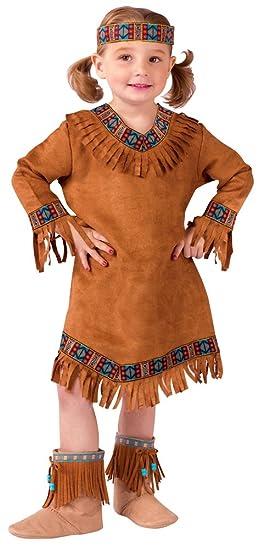 Amazoncom Bestpr1ce American Indian Girl Toddler Costume 24m