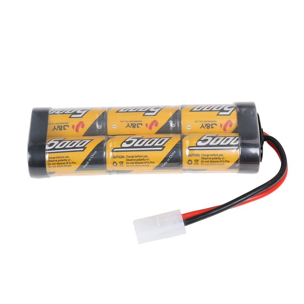 Bad Boy Buggy 72v Battery Wiring Diagram Rc Amazon Com 7 2v 5000mah Nimh Rechargeable Packs For Cars 4 Wheel Drive