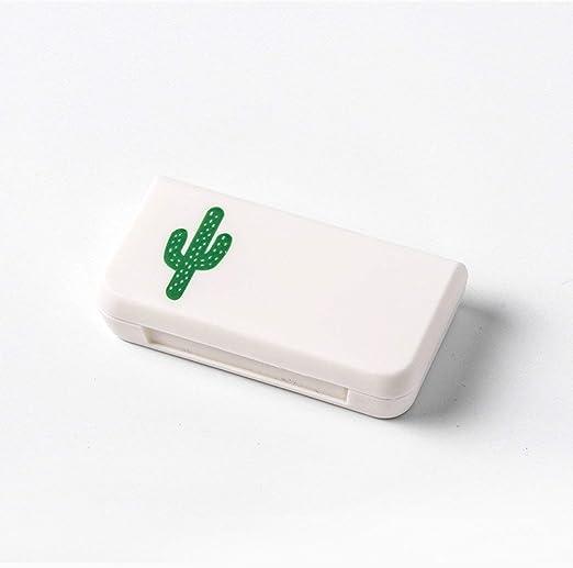 MXECO Pastillero portátil Cajas de Almacenamiento de medicamentos ...