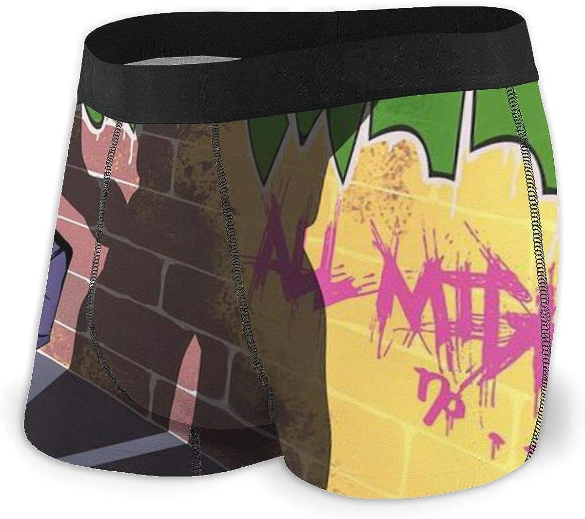 Anime Vocaloid Hatsune Miku Music All Mens Boxer Briefs Mens Underwear Cotton Underwear Stylish Black