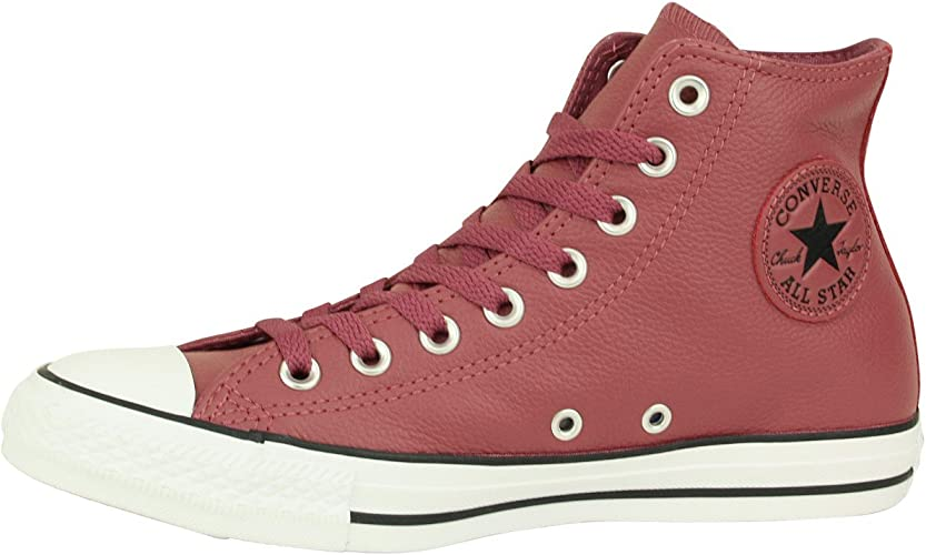 converse all star cuir rouge
