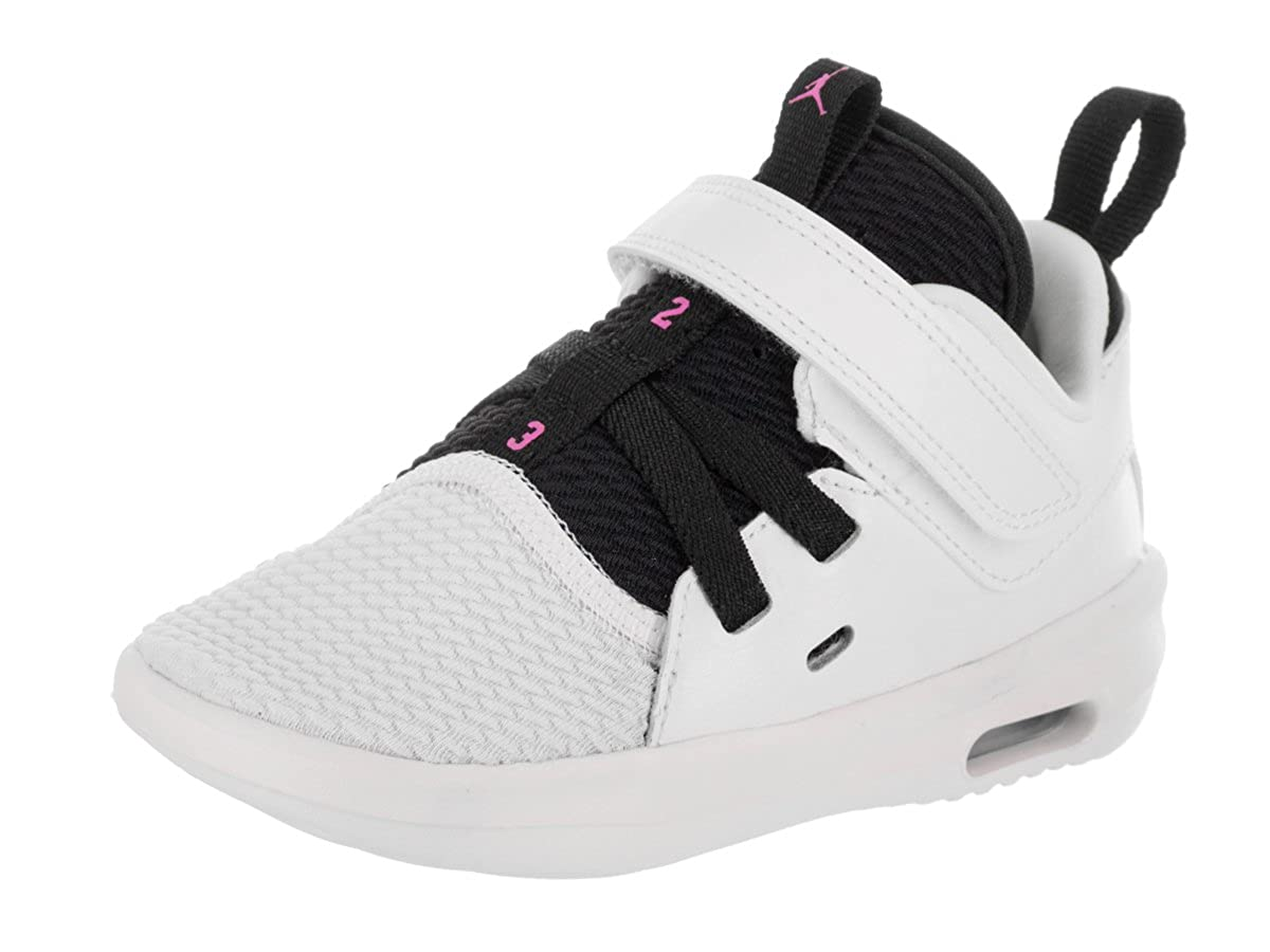 8a0f4c4d2e54 Amazon.com  Jordan Nike Toddlers Air First Class GT White Fuchsia Blast  Black Casual Shoe 8 Infants US  Shoes