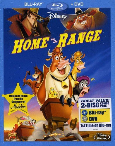 Blu-ray : Home on the Range (Dubbed, , 2 Disc)