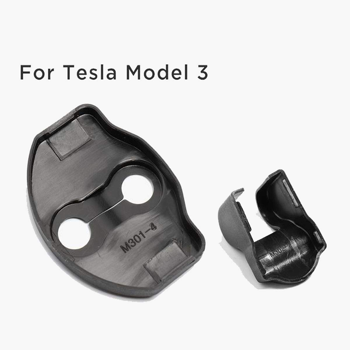 Door Stopper Covers 2pc Fit for Tesla Model 3 6 PCS Door Lock Striker Cover Kit Include Door Lock Latches Covers Covers 4pcs