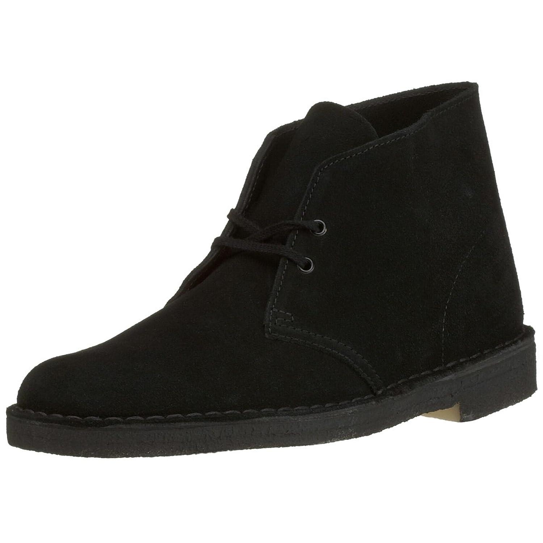 black clarks desert boots sale