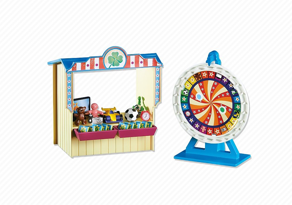 PLAYMOBIL® Add-On Series - Wheel of Fortune with hut