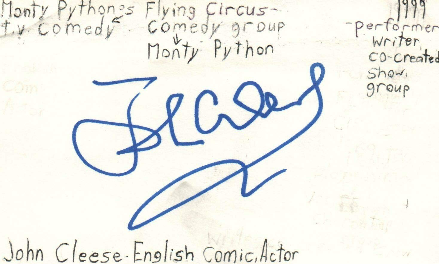 John Cleese English Actor Comedian Monty Python Tv