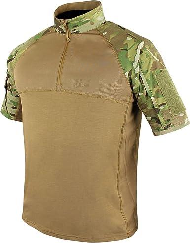 Condor - Camiseta de combate de manga corta - Multi color - Small: Amazon.es: Ropa y accesorios