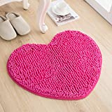 Love the door mat mat in the foyer bathroom and kitchen Ottomans bedroom carpet -5060cm Rose Red