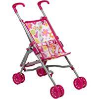 Adora Doll Accessories My First Doll Small Umbrella Toy Play Stroller for Kids 2 Years & up