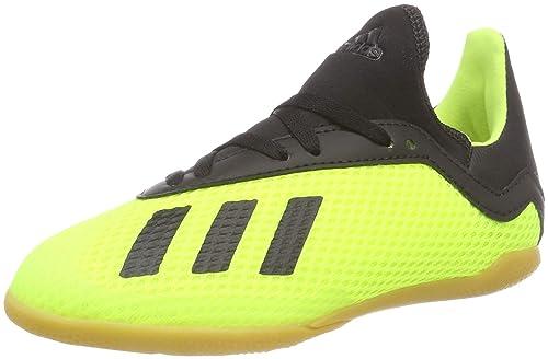 adidas X Tango 18.3 In J, Zapatillas de Fútbol para Niños, Amarillo Core Black/Solar Yellow, 33.5 EU: Amazon.es: Zapatos y complementos