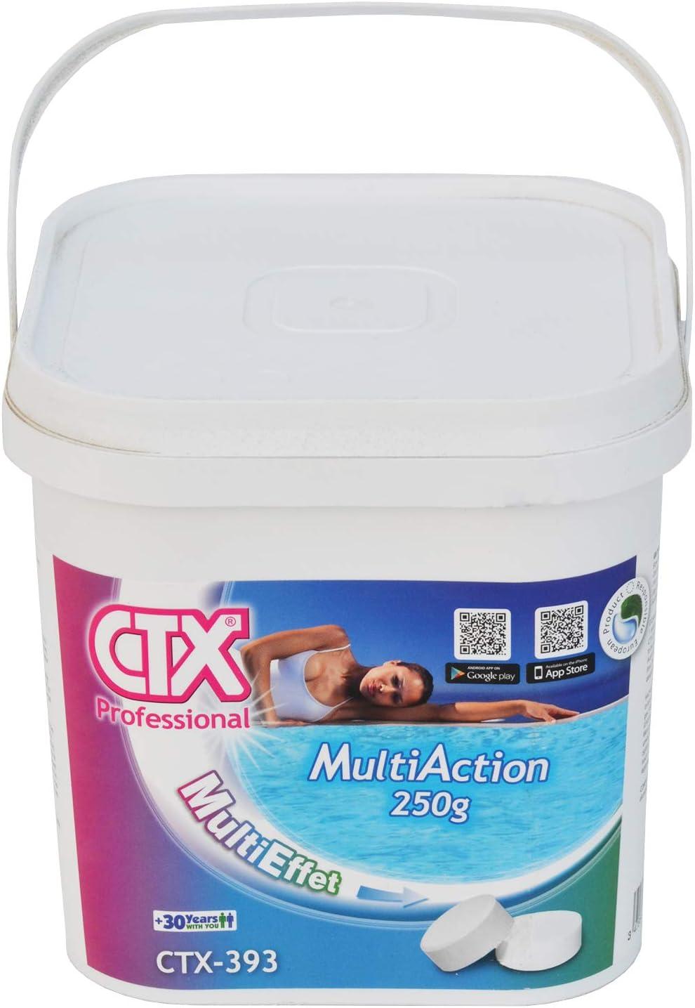 CTX 393 Cloro Triplex Pastillas de 250gr Envase de 5 Kg: Amazon.es ...