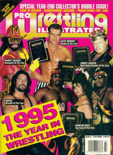 Pro Wrestling Illustrated Magazine: 1995 The Year in Wrestling (March 1996)