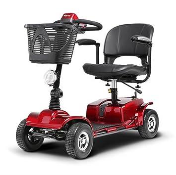 Silla de ruedas Plegable eléctrica, Completamente automática, Vespa Mayor, discapacitados Mayores, Inteligente