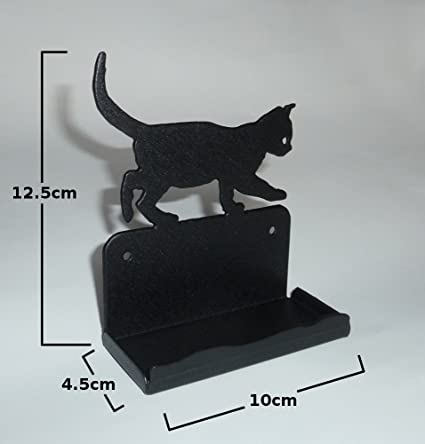 Metal business card holder cat office desk decoration metal business card holder cat office desk decoration reheart Images