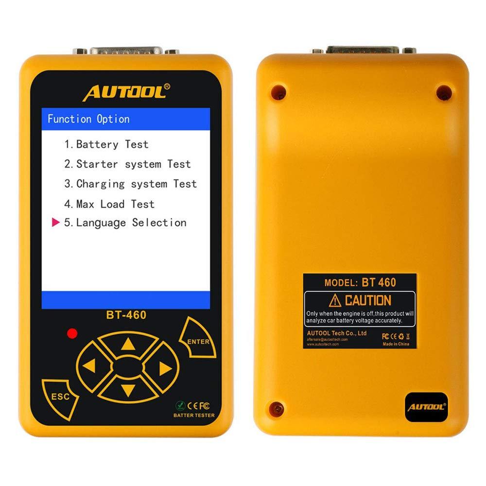 Autool bt-460/Cell analizzatore Veicolo Strumento diagnostico con 10,2/cm TFT Display colorato