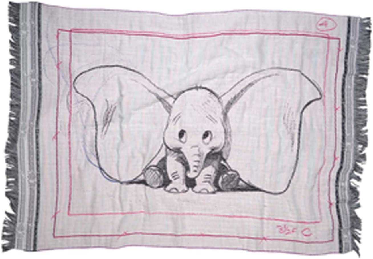 'zoep pritz Plaid Dumbo Ears, Rosa, 21/21 Amazon.es Hogar