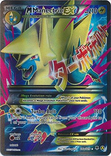(Pokemon M Manectric EX 24a/119 )
