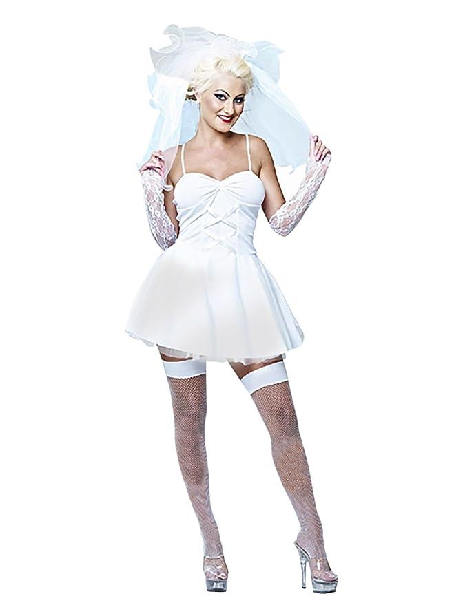 fancy virgin Madonna a dress like