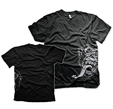 4b55e68b Gas Monkey Garage Sidekick Fast Loud Blood Sweat Beers Licensed Black Men  Tshirt: Amazon.co.uk: Clothing