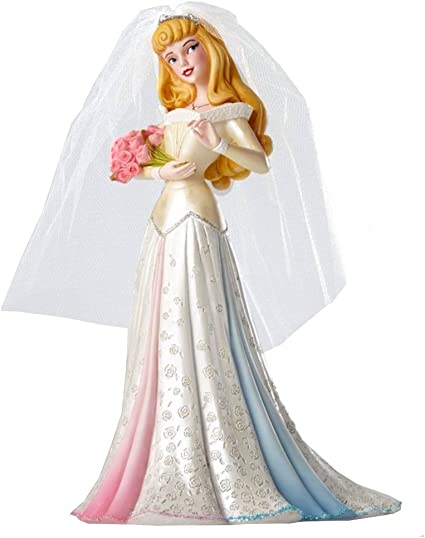 20 cm Enesco Disney Showcase Couture de Force Figurine Cendrillon dans une robe rose multicolore