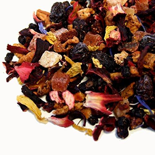 (The Tea Makers of London Sensational Bora Bora Strawberry Mango Fruit Tea Blend - Ice Tea (50G Taster))
