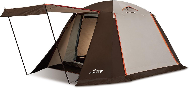 KOVEA(コベア) ドーム型テント TRACK DOME [4人用] 3面アップライト機能 【正規品】 KECT9TD-01