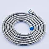 YAJO Stainless Steel 118 Inch or 3 Meter Shower Head Hose...