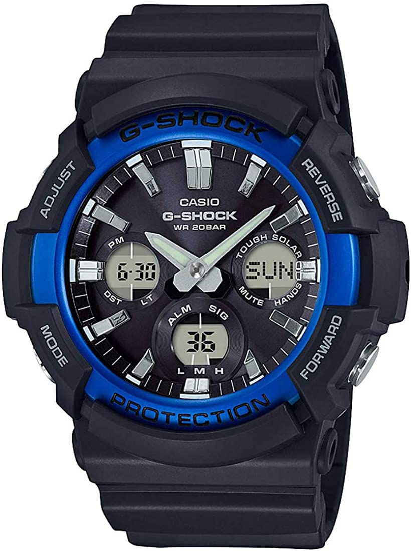 Casio GAS100B-1A2 G-Shock Standard Analog-Digital Tough Solar Men's Watch