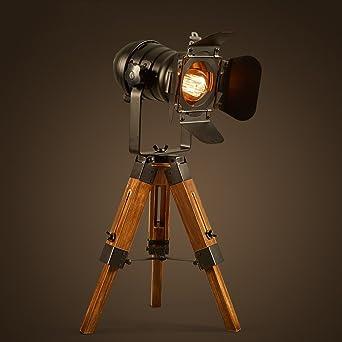 Xuanlan Kreative Kamera Skalierbare Lampen Retro Industrie Edison