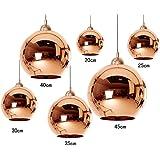 Dst Lampe De Miroir De Cuisinière En Cuivre Moderne Pour Salle De Séjour Chambre Salle D'étude Diamètre 20cm