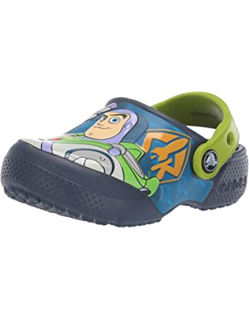 94740ec2ff7c Crocs Kids  Boys and Girls Toy Story Buzz and Woody Clog
