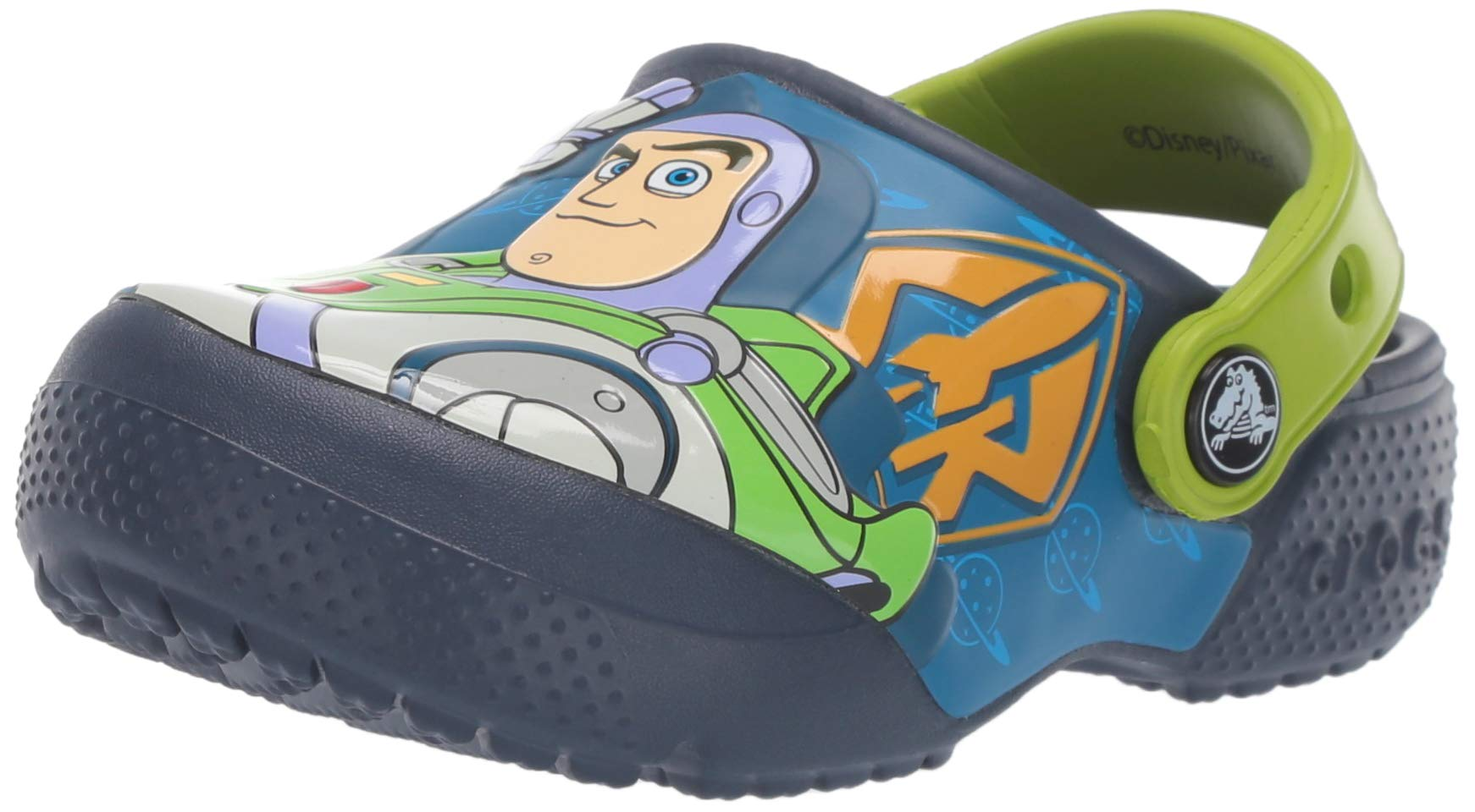 Crocs Boys and Girls Buzz Woody Clog, Navy, 1 M US Little Kid