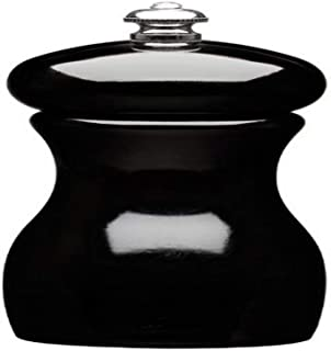 product image for Fletchers' Mill Marsala Collection Salt Mill, Black - 4 Inch, Adjustable Coarseness Fine to Coarse, MADE IN U.S.A.